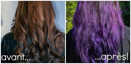 mauve haircolor - Coloration Mauve
