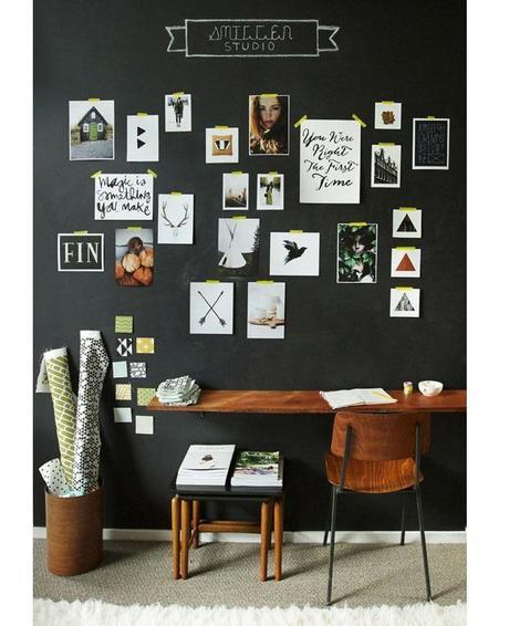 id es et inspirations pour la d coration du bureau paperblog. Black Bedroom Furniture Sets. Home Design Ideas