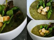 Potage brocoli yogourt cumin Trois fois jour