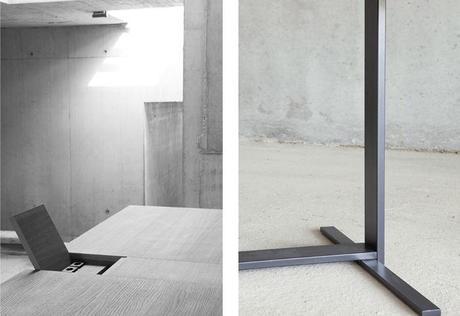 double bureau le suisse par giulio parini d couvrir. Black Bedroom Furniture Sets. Home Design Ideas