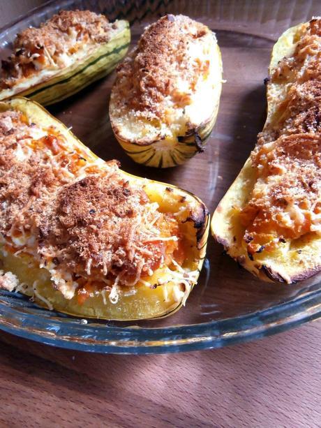 Courge d licata au gratin paperblog - Cuisiner les potimarrons ...