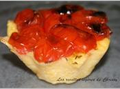 Tartelette polenta tomate