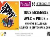 "Avant Première ""Pride"", jeudi septembre"