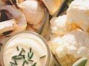 Panier fraîcheur légumes croquants, sauce moutarde aïoli