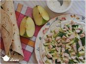 Wraps fraîcheurs poulet pommes