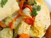 Recette couscous Poulet thermomix marocain mariné légumes thermomix)