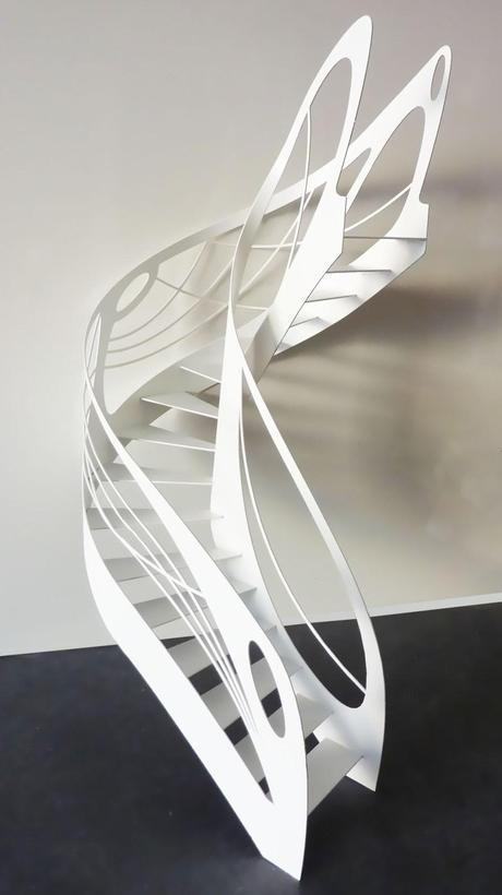 L escalier design et l art du d billard paperblog - Escalier debillarde ...