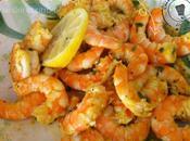 Crevettes épicées citron coriandre