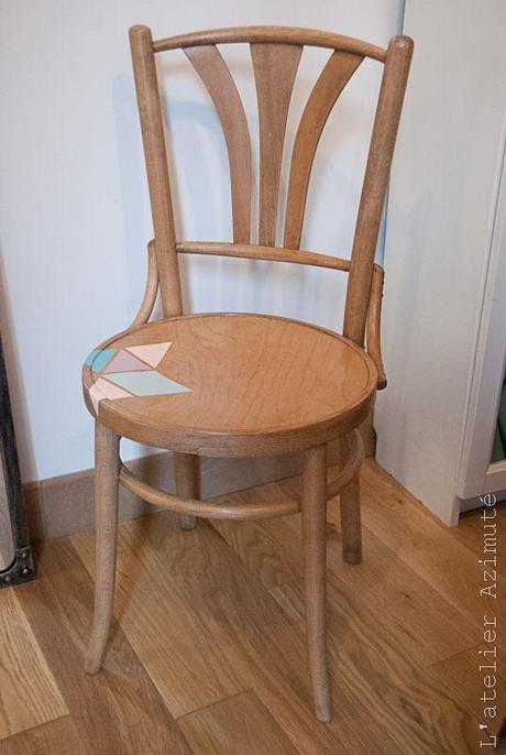 restauration de chaises bistrot la r v lation paperblog. Black Bedroom Furniture Sets. Home Design Ideas