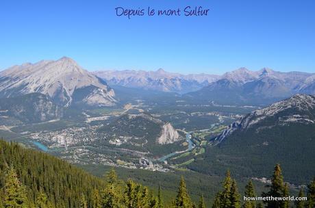 Banff mont sulfur
