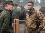 Brad Pitt dans film FURY. cinéma octobre. #FURY