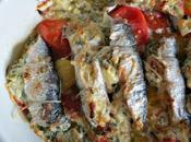 Sardines farcies feta herbes