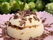 Parfait glacé caramel beurre salé, cœur gavottes