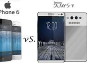 Comparatif iPhone Samsung Galaxy