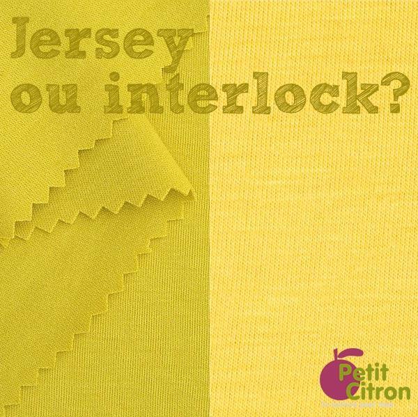 quelle est la diff rence entre interlock et jersey paperblog. Black Bedroom Furniture Sets. Home Design Ideas