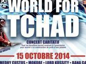 Concert caritatif: World Tchad, octobre Bataclan