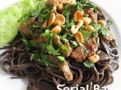 Boeuf cacahuète nouilles soba Culinoversions