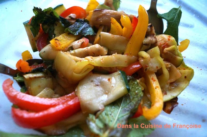 salade italienne aux legumes du soleil