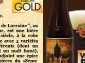 World Beer Award Médaille d'Or pour Brasseurs Lorraine