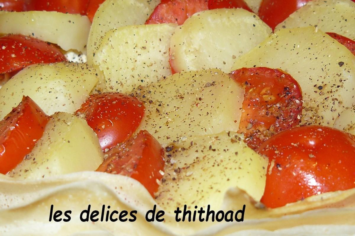 3 ingr dients pour une recette une tarte pommes de terre - Comment couper des pommes pour une tarte ...