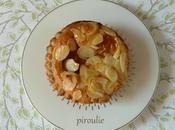 Tartelettes frangipane d'après recettes Michalak