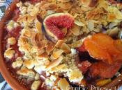 Crumble Prunes figues