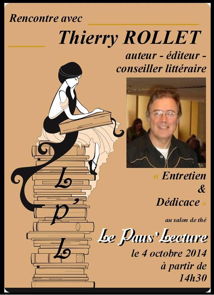 L'auteur Thierry Rollet a obtenu un article dans le journal L'Indépendant de l'Yonne à l'occasion de sa séance de dédicaces