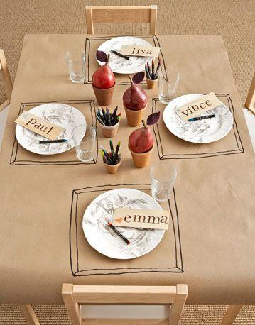 table enfant craft