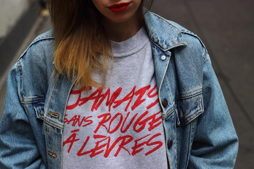 Jamais sans rouge à lèvres !