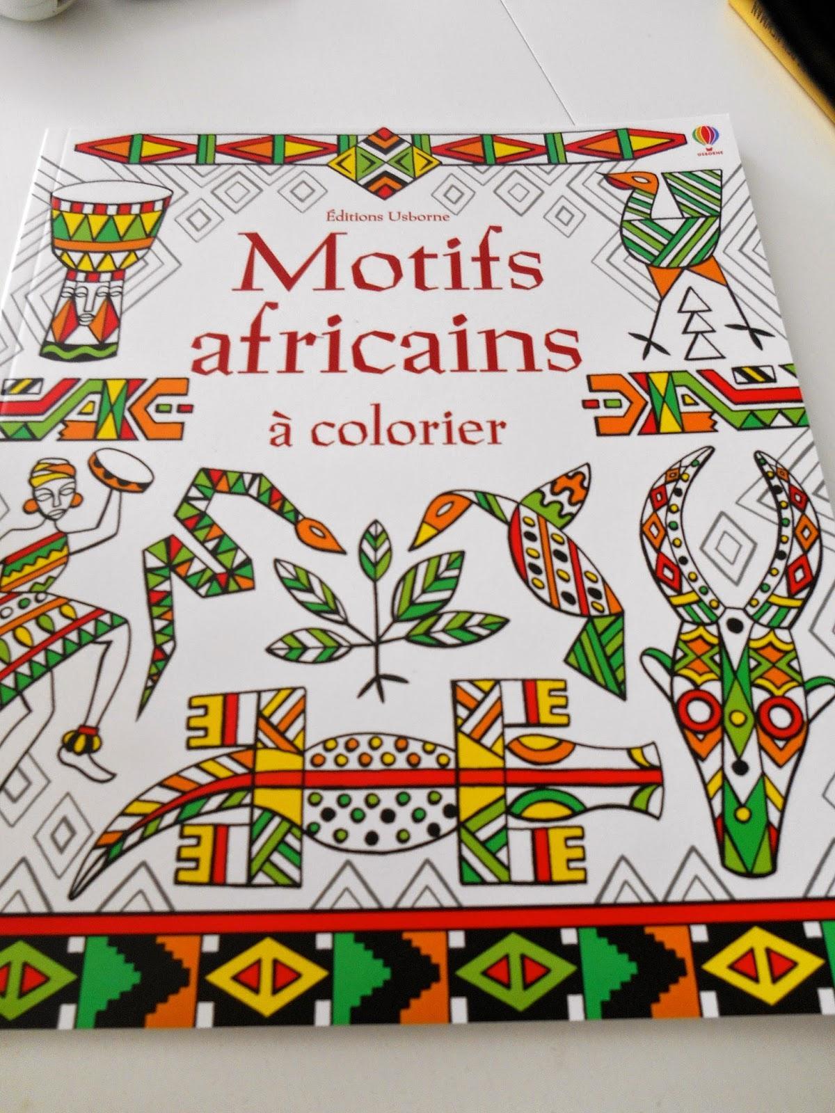 Motifs africains à colorier  À Voir