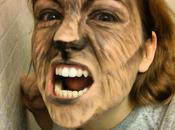 Maquillage Halloween: Loup Garou