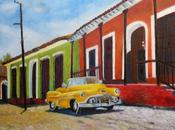 Cuba Cars, Peinture Serge Boisse