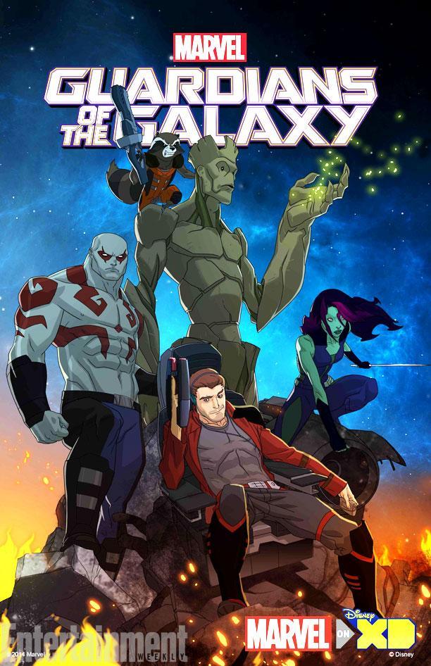 NYCC2014] Un poster et une vidéo pour la série animée Guardians of ...