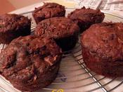 Muffins Pommes, Flocons d'avoine poudre Caroube