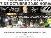 Lucho Repetto soir Academia Nacional Tango l'affiche]