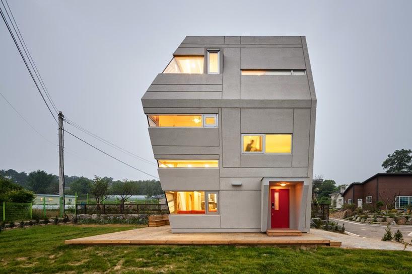la maison star wars par le bureau sud cor en moon hoon architecture d couvrir. Black Bedroom Furniture Sets. Home Design Ideas