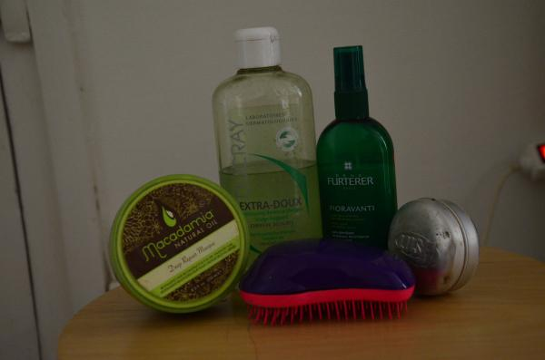 Routine cheveux produits avis