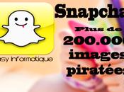Plus images piratées Snapchat