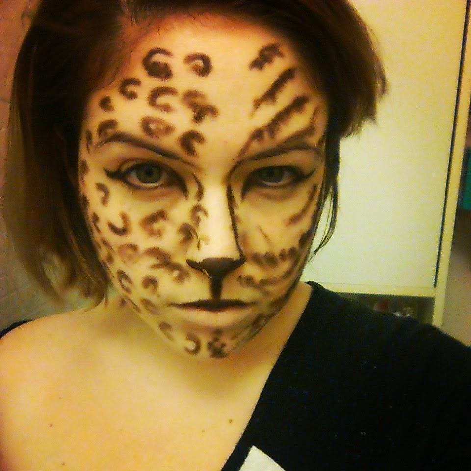 maquillage tigre halloween femme. Black Bedroom Furniture Sets. Home Design Ideas