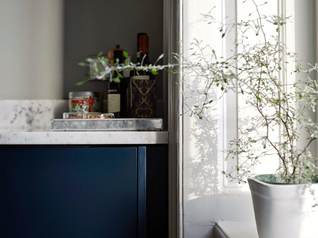 su de une cuisine bleue lire. Black Bedroom Furniture Sets. Home Design Ideas