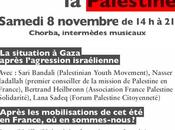 Novembre Solidarité avec Palestine Comme vous Emoi Révolution Montreuil