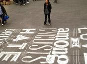 L'art lettre travail Tommaso Guerra Typographie
