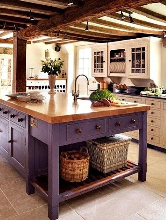 D coration pour une cuisine violette paperblog - Deco cuisine violet ...