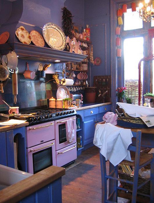 D Coration Pour Une Cuisine Violette Paperblog