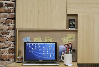 Podpad Kompakter Wand Schreibtisch