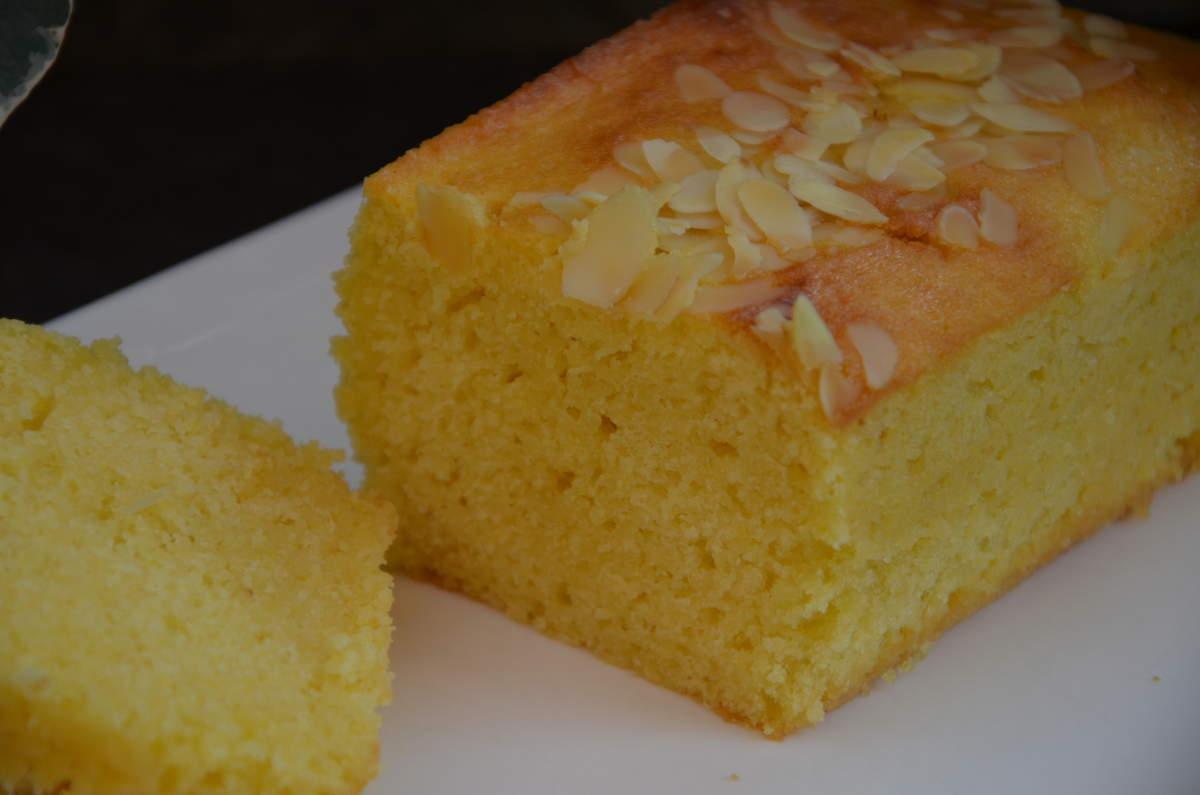 Cake Aux Amandes Et Citron