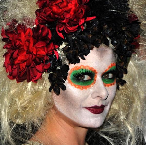 Tendance Halloween Le Maquillage Dia De Los Muertos Paperblog