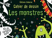 Halloween dessine, colle, colorie! Cahier dessin monstres