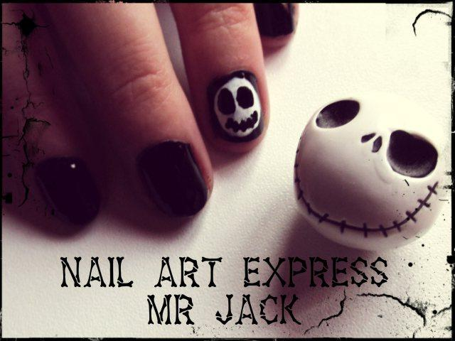 nail art express mr jack pour halloween d couvrir. Black Bedroom Furniture Sets. Home Design Ideas