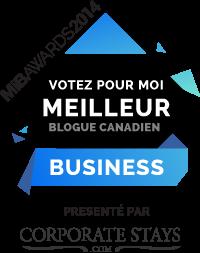 Votez pour mon blogue au concours MiB Awards !